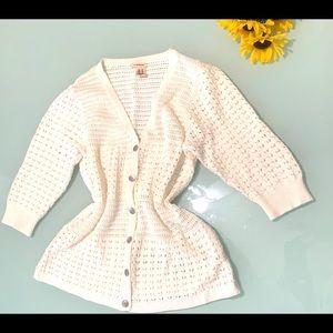 DKNY White Sweater